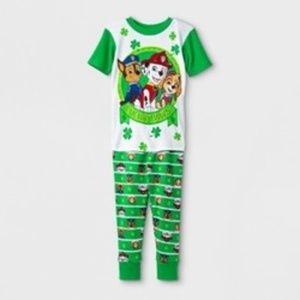 Toddler Boys' PAW Patrol 2pc Pajama Set - Green 2T